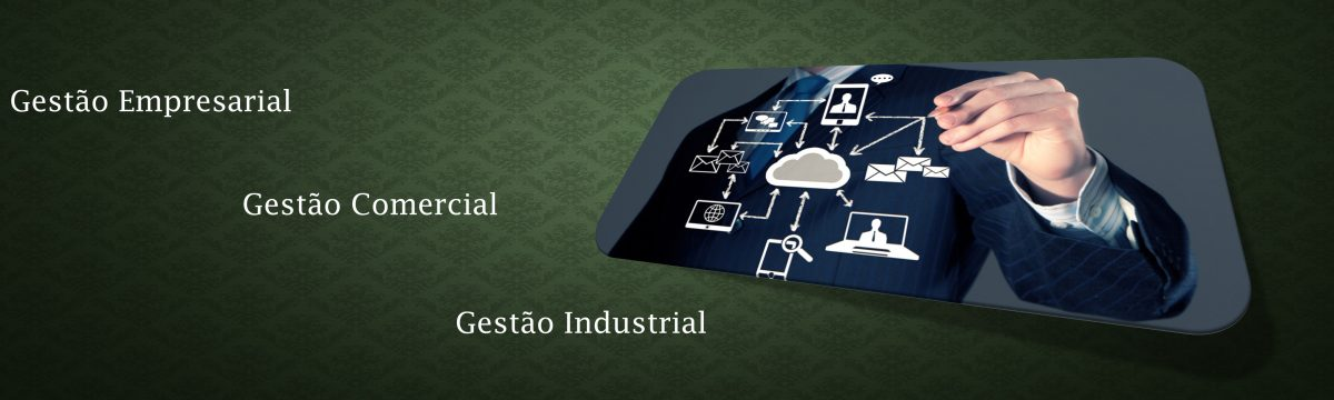 gestão comercial, gestão empresarial, gestão industrial